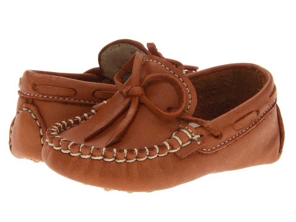 Elephantito - Driver Loafers (Infant) (Natural) Boys Shoes