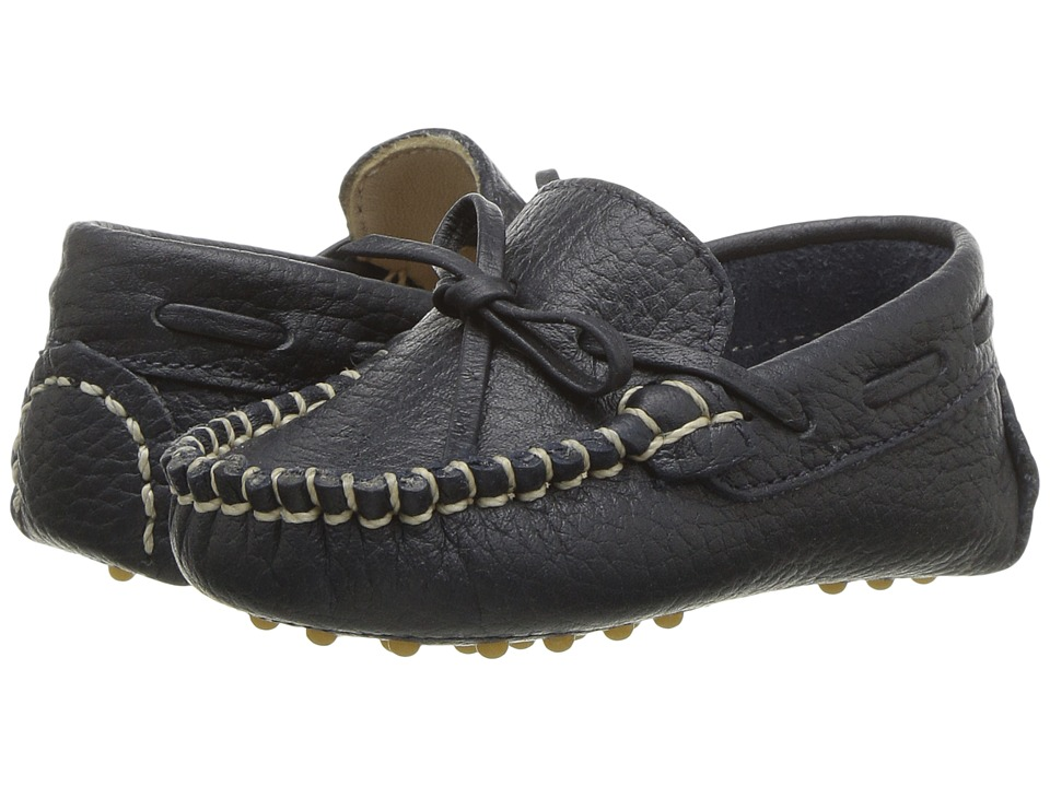 Elephantito Driver Loafers Infant Navy Boys Shoes
