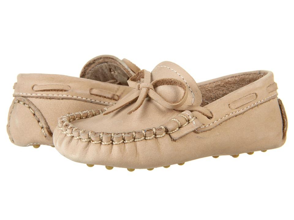 Elephantito Driver Loafers Infant Ivory Boys Shoes