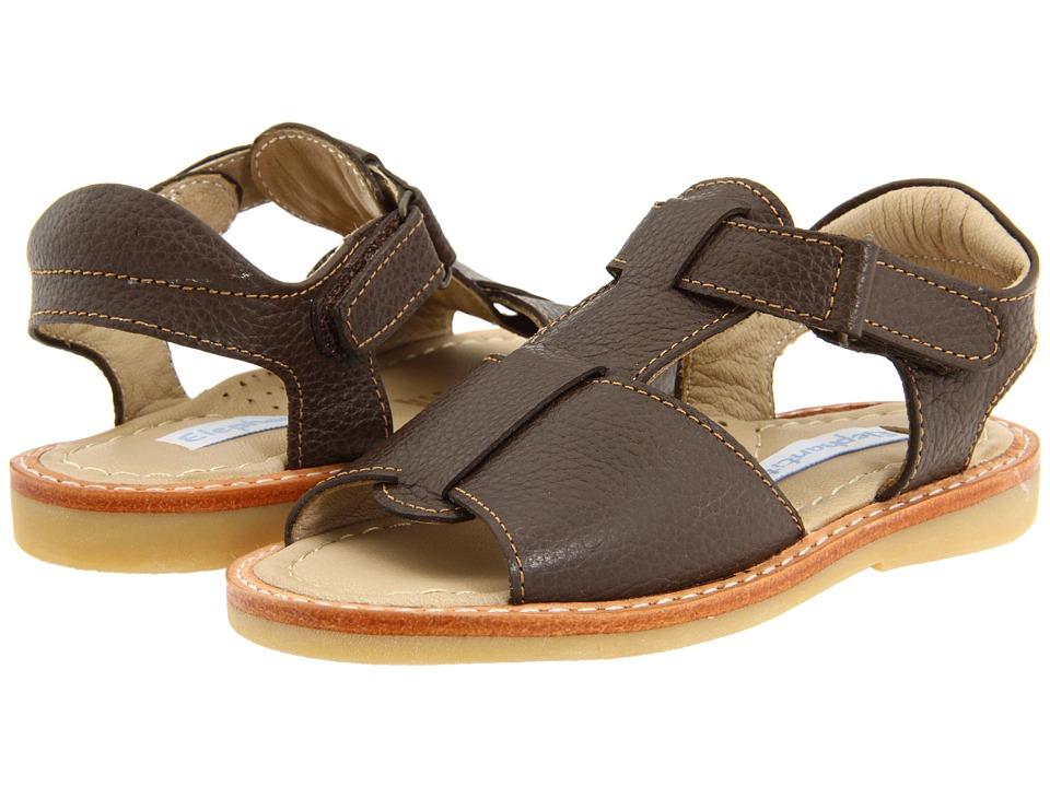 Elephantito Sandal Toddler Chocolate Boys Shoes