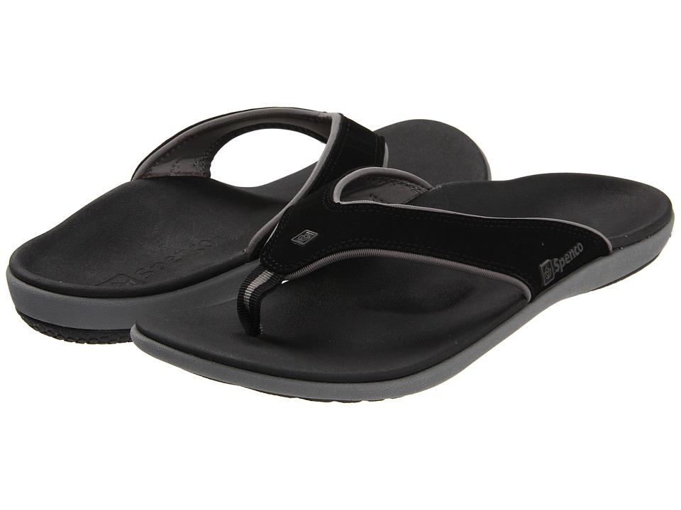Spenco Yumi Carbon/Pewter Mens Sandals