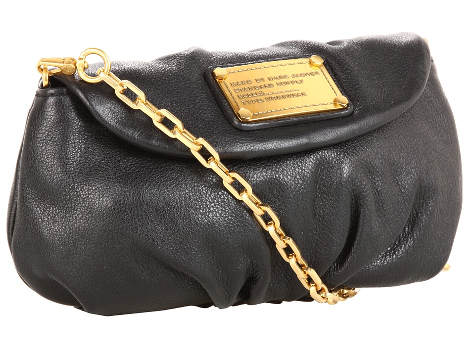 Marc by Marc Jacobs Classic Q Karlie Black Cross Body Handbags
