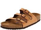 Birkenstock - Florida Soft Footbed - Birkibuc (Antique Brown Birkibuc) - Footwear