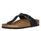 Birkenstock - Gizeh Oiled Leather (Black Oiled Leather)