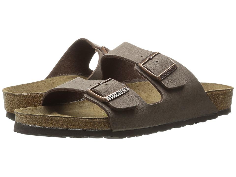 Birkenstock Arizona Birkibuc (Unisex) (Mocha Birkibuc ) Sandals