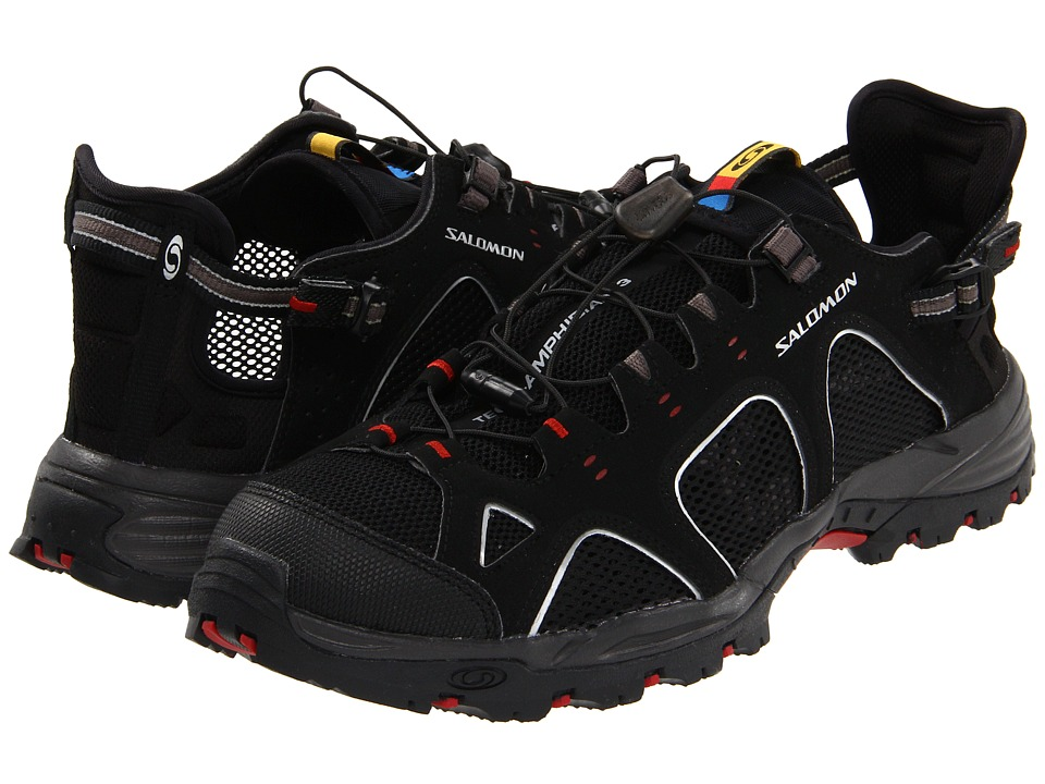 Salomon Techamphibian 3 (Black/Autobahn/Flea) Men's Shoes