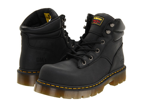 Dr. Martens Work Burnham ST 6 Tie Boot
