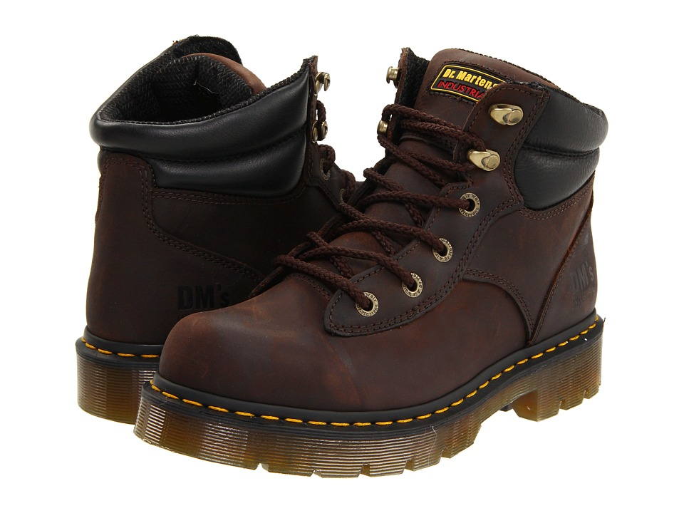 Dr. Martens Work Burnham NS 6 Tie Boot Gaucho Volcano Work Lace up Boots