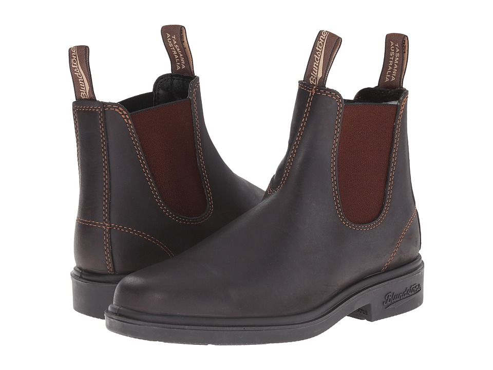 Blundstone - BL062 (Stout Brown) Mens Pull-on Boots