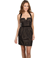 BCBGeneration - Shirred Bust Halter Dress