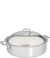 All-Clad - Stainless Steel 6 Qt. French Braiser with Rack & Domed Lid