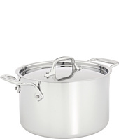 All-Clad - Stainless Steel 3 Qt. Casserole With Lid