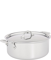 All-Clad - Stainless Steel 6 Qt. Stock Pot With Lid
