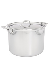 All-Clad - Stainless Steel 12 Qt. Stockpot With Lid