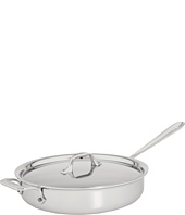 All-Clad - Stainless Steel 3 Qt. Sauté Pan With Lid
