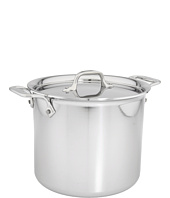 All-Clad - Stainless Steel 7 Qt. Stockpot with Lid