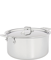 All-Clad - Stainless Steel 8 Qt. Stock Pot with Lid