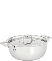 All-Clad - Stainless Steel 3 Qt. Cassoulet With Lid