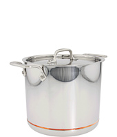 All-Clad - Copper-Core 7 Qt. Stock Pot With Lid