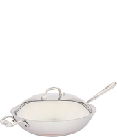All-Clad - Copper-Core 4 Qt. Chef's Pan with Lid