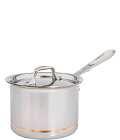 All-Clad - Copper-Core 2 Qt. Sauce Pan With Lid