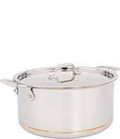 All-Clad - Copper-Core 8 Qt. Stock Pot With Lid
