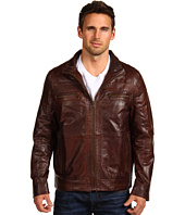 Scully - Front Zip Premium Leather