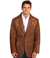 Scully - Men's Caiman Alligator Inset Blazer