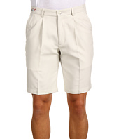 Greg Norman - Single Pleated Check Short