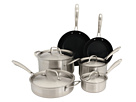 Cuisinart - GreenGourmet Tri-Ply Stainless 10-Piece Set (Stainless Steel) - Home