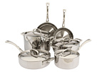 Cuisinart - French Classic Tri-Ply Stainless 10-Piece Set (Stainless Steel) - Home