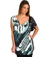 Just Cavalli - Zebra Jersey Blouson Top