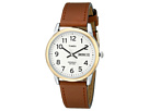 Timex Easy Reader Brown Leather Watch #T20011