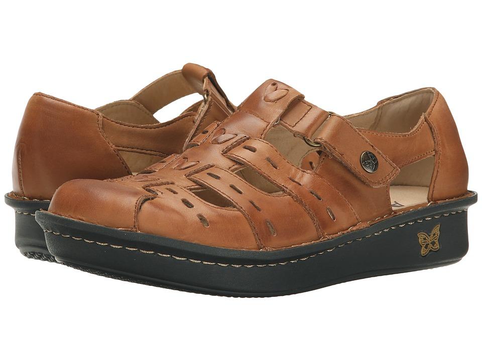 Alegria - Pesca (Cognac Leather) Women
