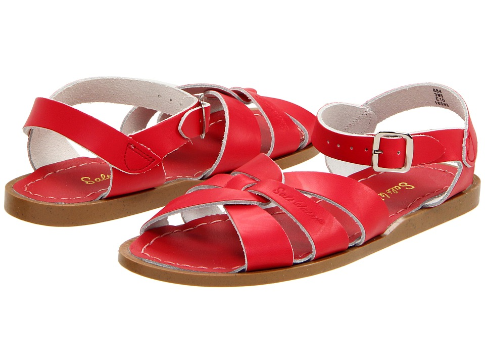 Salt Water Sandal by Hoy Shoes The Original Sandal (Big Kid/Adult) (Red) Girls Shoes