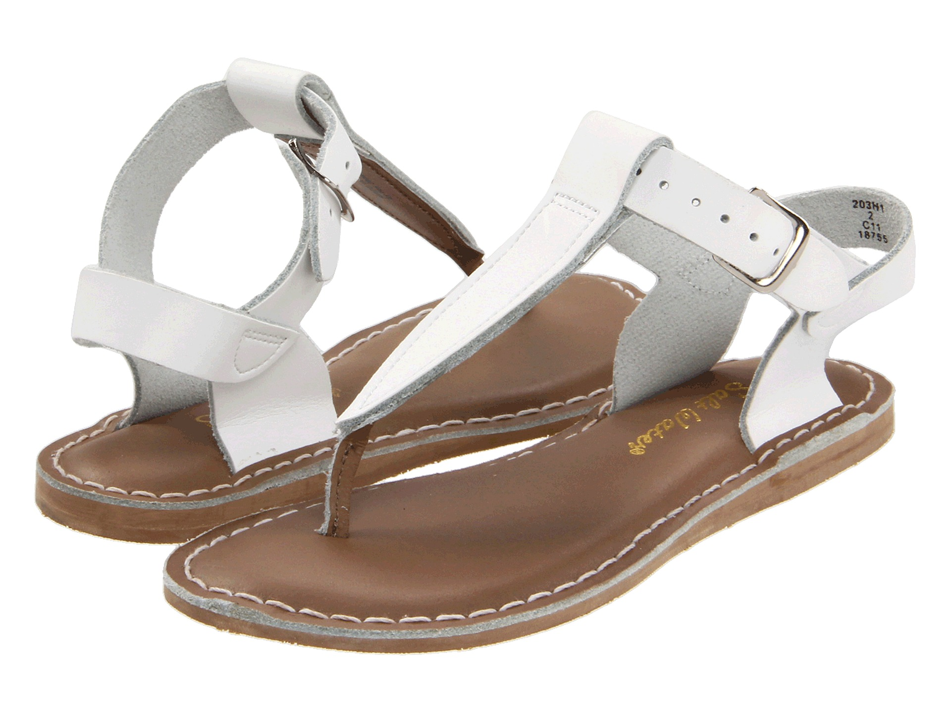 salt water sandal by hoy shoes sun san t thongs toddler little kid free. Black Bedroom Furniture Sets. Home Design Ideas