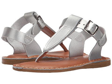 Salt Water Sandal by Hoy Shoes Sun-San - T-Thongs (Toddler/Little Kid) - Silver