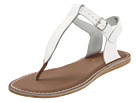 Salt Water Sandal by Hoy Shoes - Sun-San - T-Thongs (Youth/Adult) (White) - Footwear