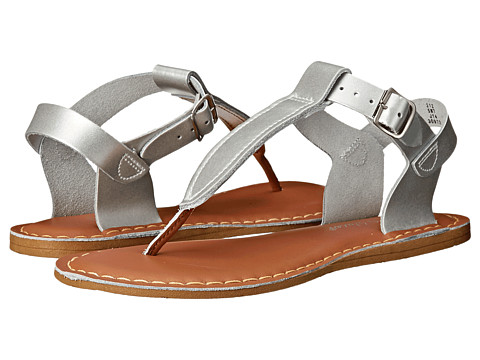Salt Water Sandal by Hoy Shoes Sun-San - T-Thongs (Big Kid/Adult) - Silver