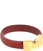 Linea Pelle - Welted Leather Bangle
