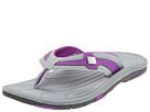 New Balance - Bella Thong (Grey/Purple) - Footwear
