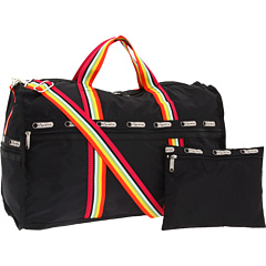LeSportsac - Stripeweb Large Weekender (Bright Stripe) - Bags and Luggage