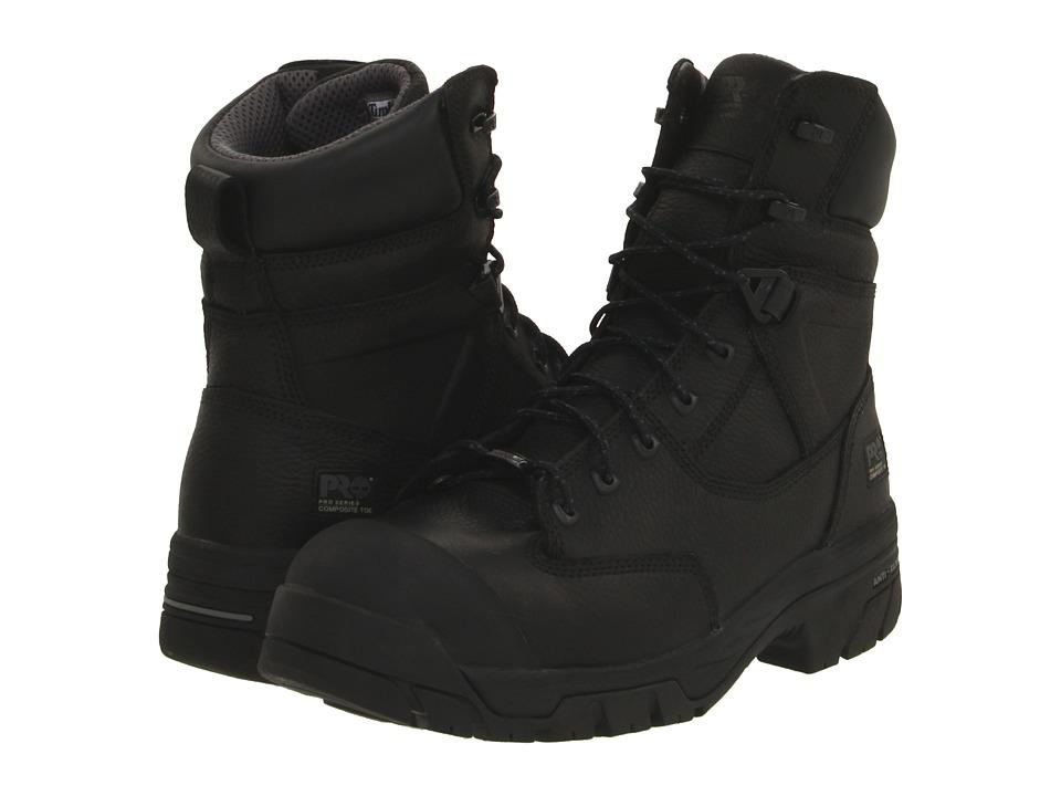 Timberland PRO Helix 8 Waterproof Composite Toe (Black) Men