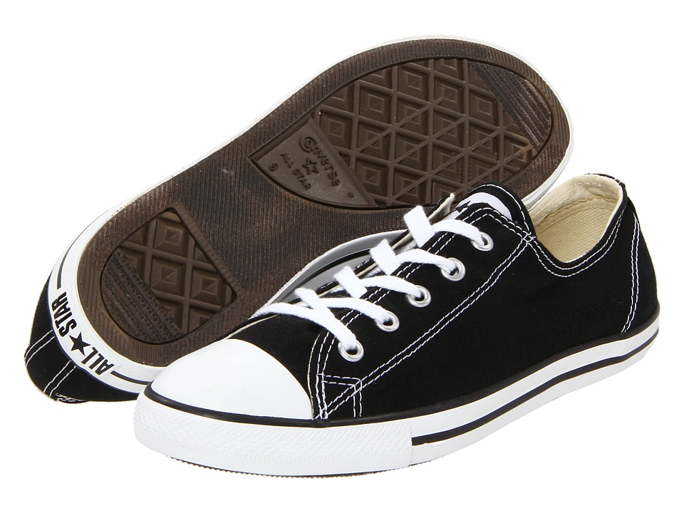 Converse Chuck Taylor(r) All Star(r) Dainty Ox (Black) Wo...
