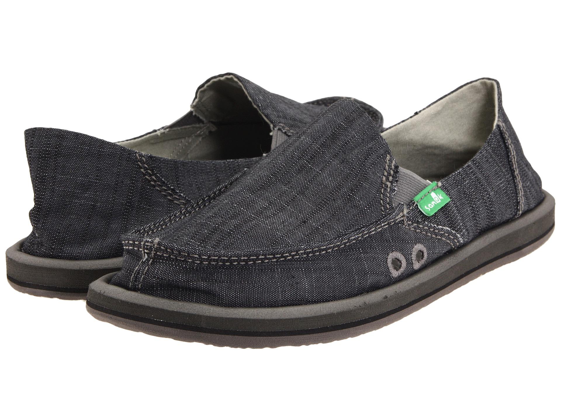 Womens Sanuk Shoes - Sanuk Donna - Free Shipping and Returns (Black