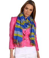 Juicy Couture - Wavy Stripe Oblong Scarf