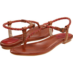 buy Frye - Madison Braided (Burnt Red Multi Veg Tan) - Footwear  Online Shoe Shop