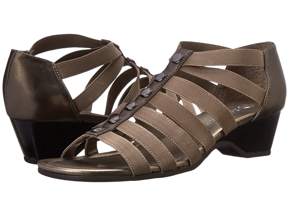 Bella-Vita - Paula II (Pewter) Women's Sandals