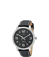 Timex - Easy Reader Black Leather Watch