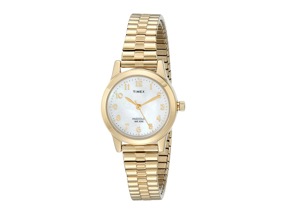 Timex Timex - Classic Gold-Tone Expansion Band Watch